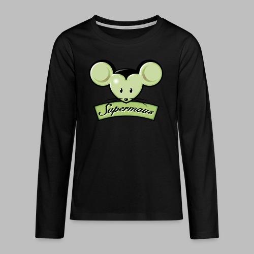 Supermaus - Teenager Premium Langarmshirt