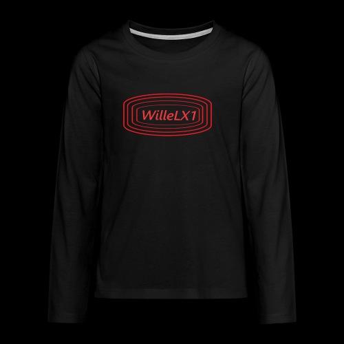 Cirkel LX1 - Långärmad premium T-shirt tonåring