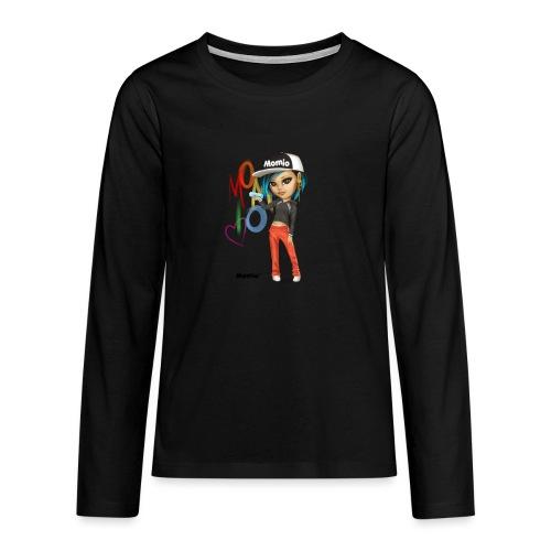 Maya - von Momio Designer Cat9999 - Teenager Premium Langarmshirt
