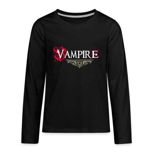 Vampire - Maglietta Premium a manica lunga per teenager