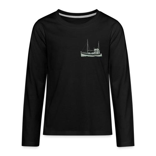 LoGo 2018 - Premium langermet T-skjorte for tenåringer