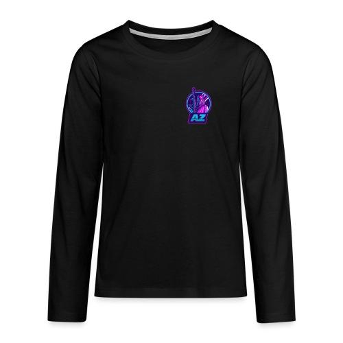 AZ GAMING LOGO - Teenagers' Premium Longsleeve Shirt