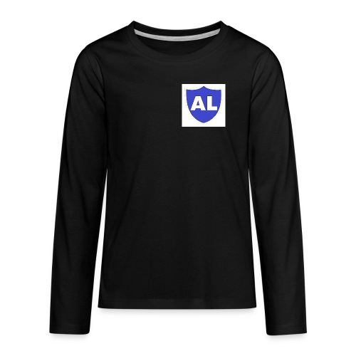 shop two png - Teenagers' Premium Longsleeve Shirt
