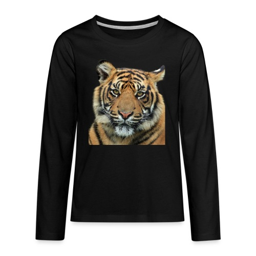 tiger 714380 - Maglietta Premium a manica lunga per teenager