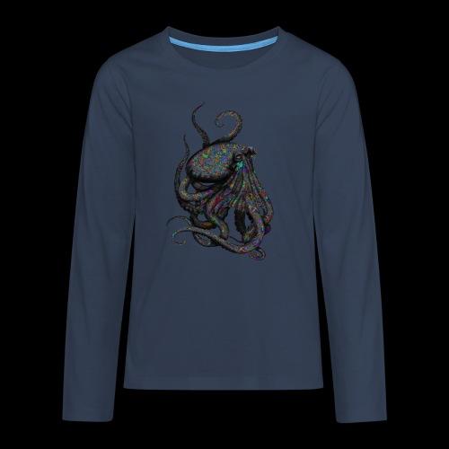 Oktopus Goa - Teenager Premium Langarmshirt