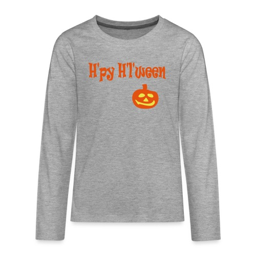 Happy Halloween - Teenager Premium Langarmshirt