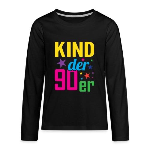 Kind der 90er Jahre 90s - Teenager Premium Langarmshirt
