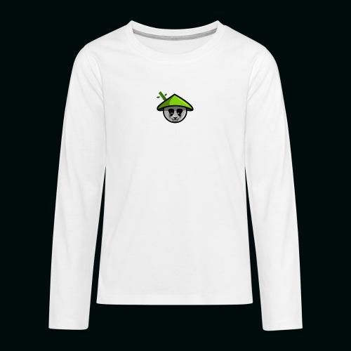 PANADAA png - Teenagers' Premium Longsleeve Shirt