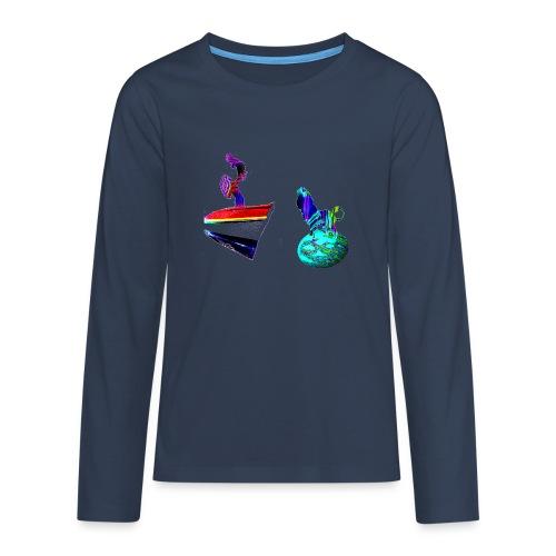 Liberté joie de Gina - T-shirt manches longues Premium Ado