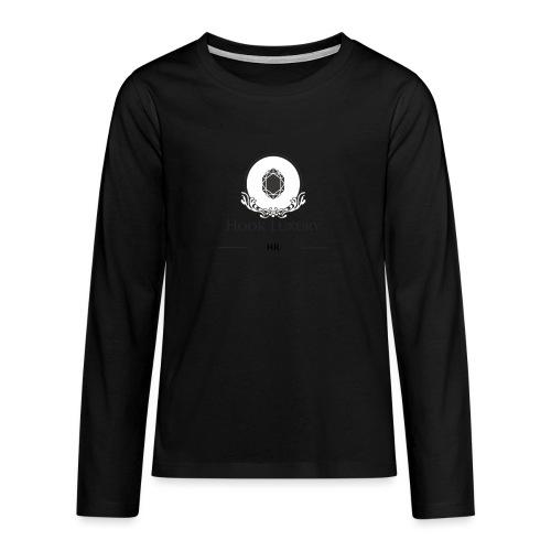 Diseño Diamantes - Camiseta de manga larga premium adolescente