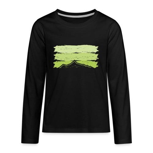 Ahorn - Teenager Premium Langarmshirt