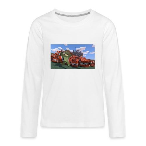 novaskin wallpaper 16 png - Teenager Premium Langarmshirt