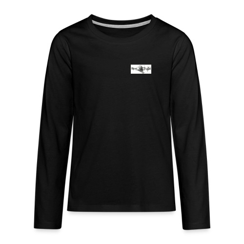 sloe tain logo jpg - Teenagers' Premium Longsleeve Shirt
