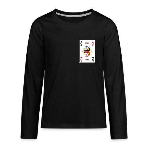 Joker - Maglietta Premium a manica lunga per teenager