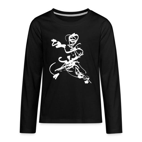 mantis style - Teenagers' Premium Longsleeve Shirt