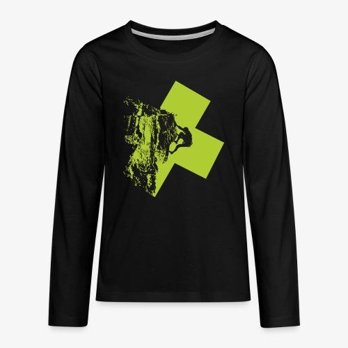 Escalando - Teenagers' Premium Longsleeve Shirt