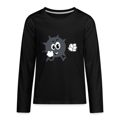 Logo démineur - T-shirt manches longues Premium Ado
