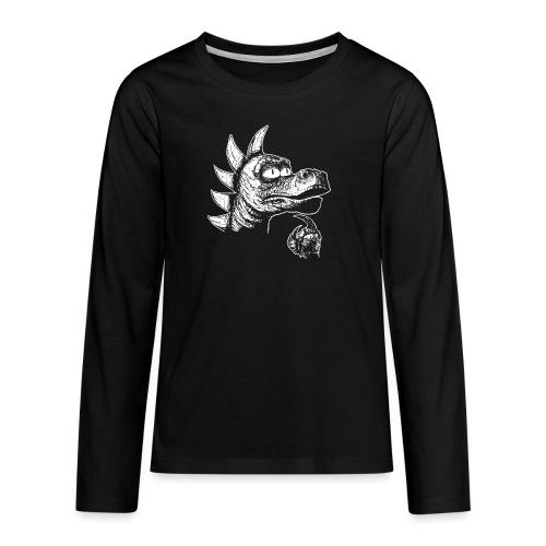 FILOZOSMOK - Koszulka Premium z długim rękawem dla nastolatków