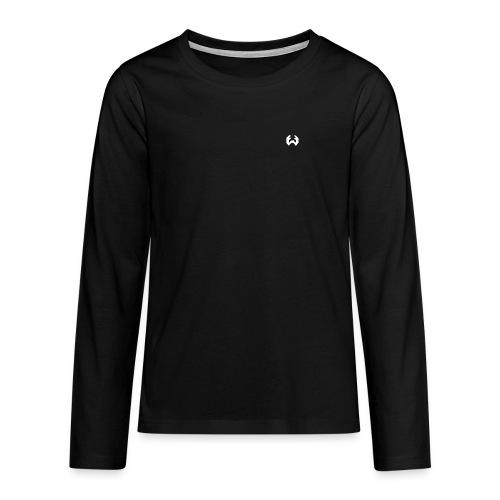 logo thgéo png - T-shirt manches longues Premium Ado