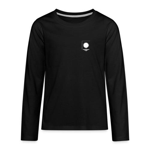 tujen vaakunalogo - Teinien premium pitkähihainen t-paita