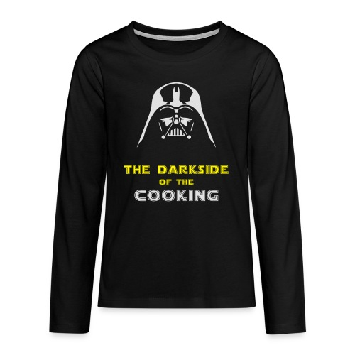 The darkside of the cooking - T-shirt manches longues Premium Ado