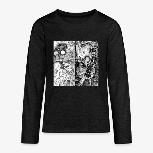 Universe in us all Square edition by Rivinoya - Teinien premium pitkähihainen t-paita