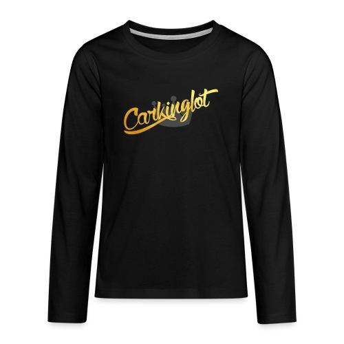 Carkinglot clean - Teenager Premium shirt met lange mouwen