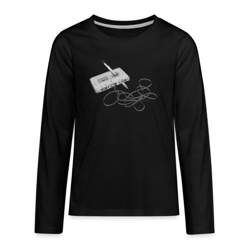 La cassette et son allié - T-shirt manches longues Premium Ado
