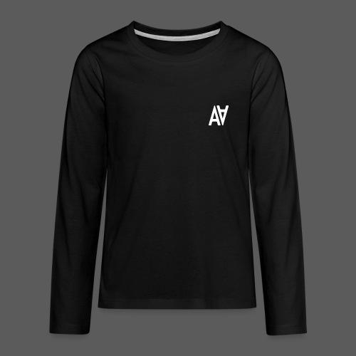 GAWAR White - T-shirt manches longues Premium Ado