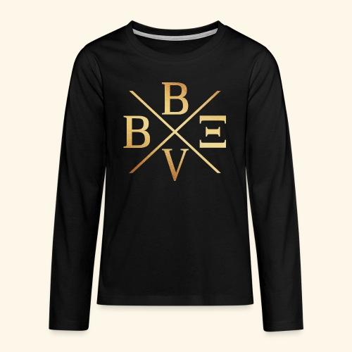 BVBE Gold X Factor - Teenagers' Premium Longsleeve Shirt