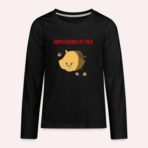 Hamsteroids Attack !!! - T-shirt manches longues Premium Ado
