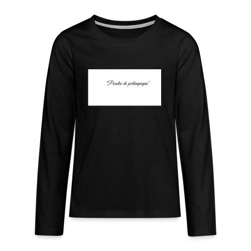 Happy - T-shirt manches longues Premium Ado