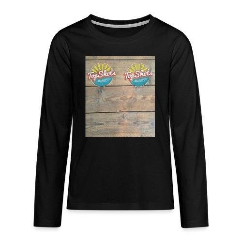 TenSlippers - Teenager Premium shirt met lange mouwen