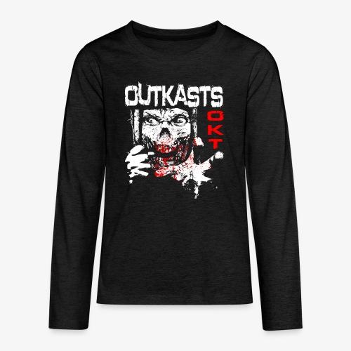 Outkasts Scum OKT Front - Teenagers' Premium Longsleeve Shirt