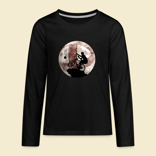 Radball   Cycle Ball Moon - Teenager Premium Langarmshirt