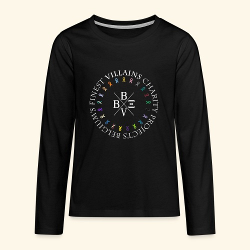 BVBE Charity Projects x factor white Charlemagne T - Teenagers' Premium Longsleeve Shirt