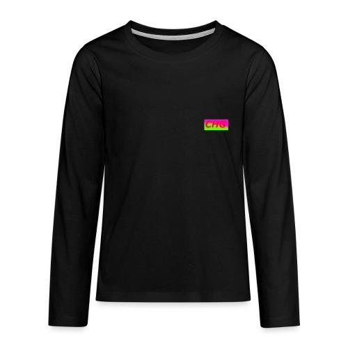 CHG - Långärmad premium T-shirt tonåring
