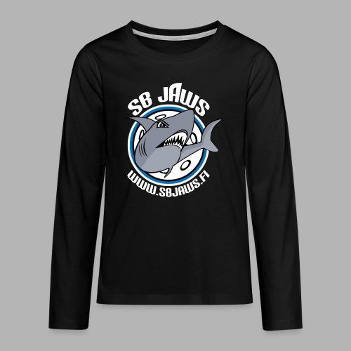 SB JAWS - Teinien premium pitkähihainen t-paita
