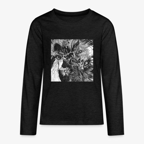 Enter the Linear Dream Square edition by Rivinoya - Teinien premium pitkähihainen t-paita