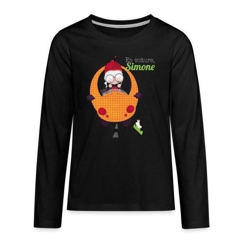 AUTOSIMONE - T-shirt manches longues Premium Ado