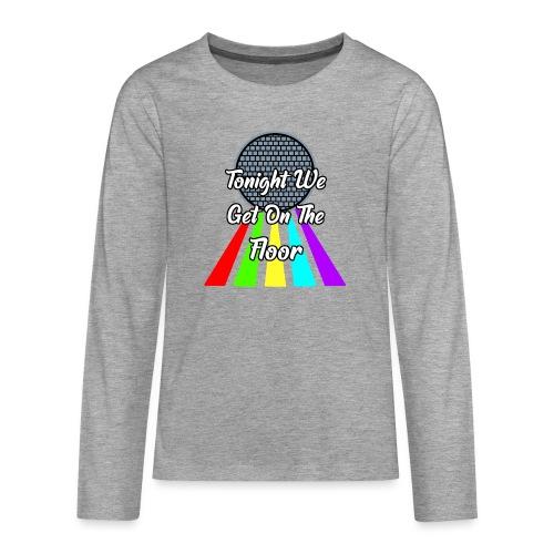 Dance Party - Teenager Premium Langarmshirt