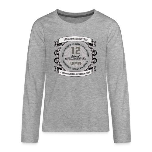 logo 2 png - Teenager Premium Langarmshirt