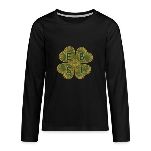 cashflow Quadrant in Kleeblatt - Teenager Premium Langarmshirt
