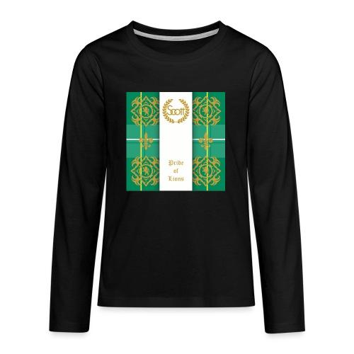 pride of lions clan - Teenager Premium Langarmshirt
