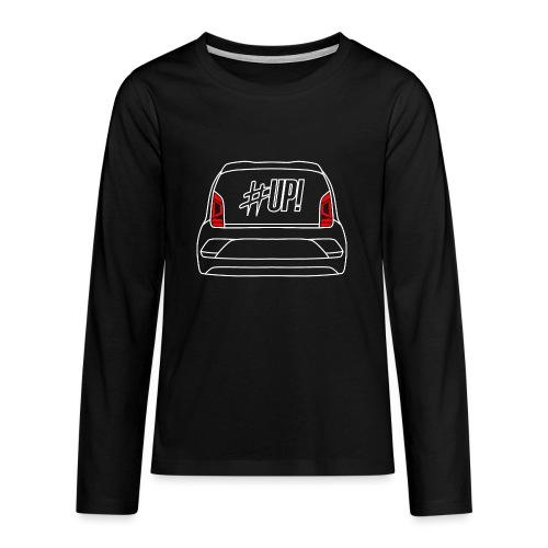 back up! - Teenager Premium Langarmshirt