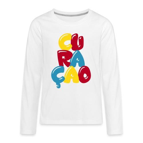 curacao - Teenager Premium shirt met lange mouwen