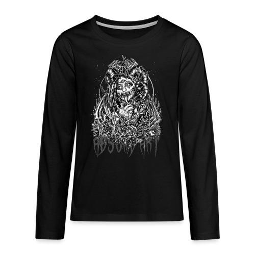Murderous Beauty, Black'n White, Absurd Art - Teenager Premium Langarmshirt