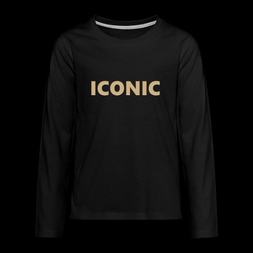 ICONIC [Cyber Glam Collection] - Teenagers' Premium Longsleeve Shirt