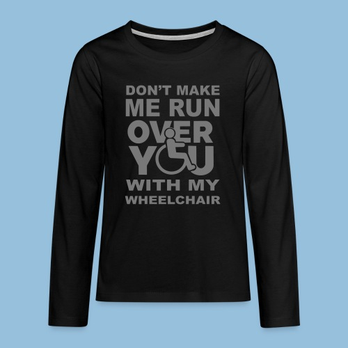 Runover1 - Teenager Premium shirt met lange mouwen