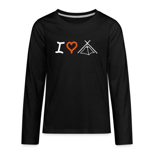 I love Kothe - Teenager Premium Langarmshirt